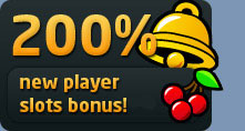 200% New Player Slots Bonus